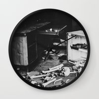 death Wall Clocks featuring Death by Sarah Van Neyghem