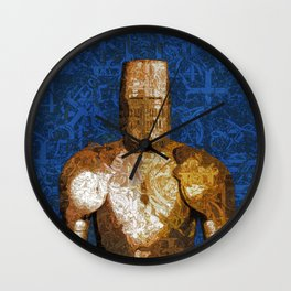 Mystic Knight Wall Clock