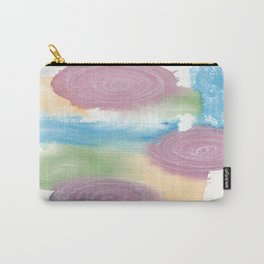Watercolour Swirls Carry-All Pouch