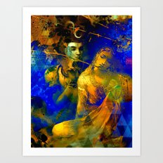 Shiva The Auspicious One - The Hindu God Art Print