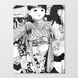 Dolly Princess Canvas Print