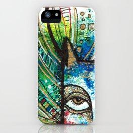 decorative cat iPhone Case
