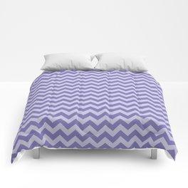Purple Moroccan Moods Chevrons Comforters