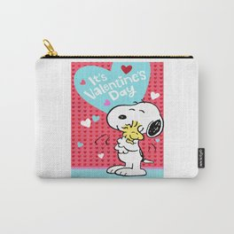 Peanuts Snoopy You're Loved Carry-All Pouch