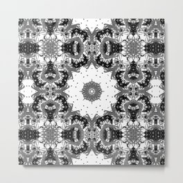 Star Symmetry Metal Print