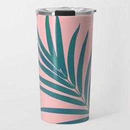 Tropical Palm Leaf #3 #botanical #decor #art #society6 Travel Mug