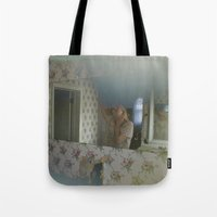 mirror Tote Bags featuring Mirror by kdyj