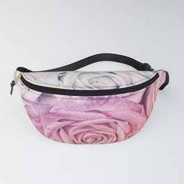 Some people grumble II  Floral rose flowers pink and multicolor Fanny Pack