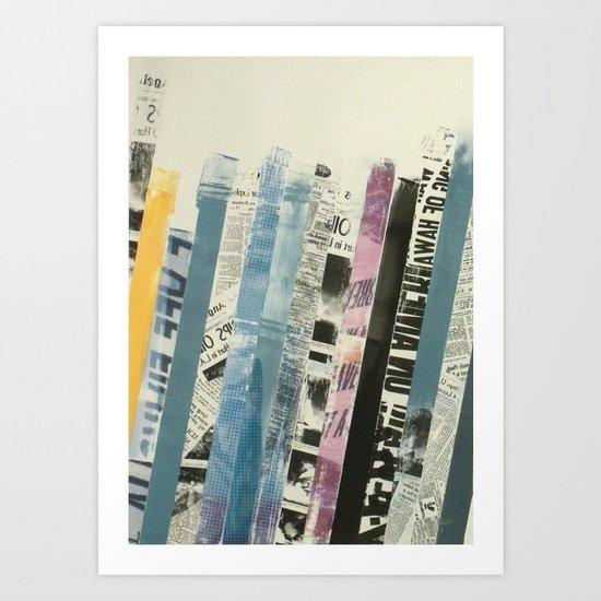 STRIPES 3 Art Print
