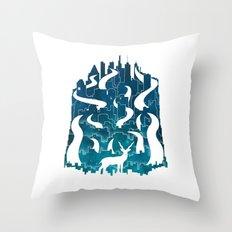 Antelope Aeon Throw Pillow
