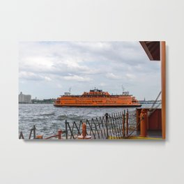 S.I. Ferry NYC Metal Print