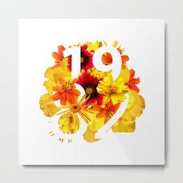 Flower 1982 Metal Print