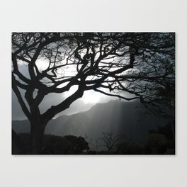 Sunset over the Ko'olau Mountains Canvas Print