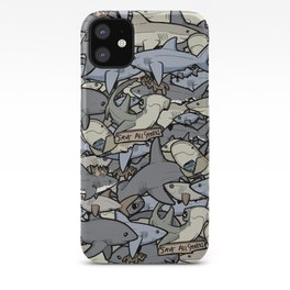 Save ALL Sharks! iPhone Case