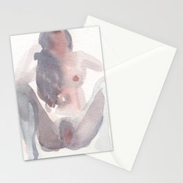 Portrait of Rain Stationery Cards