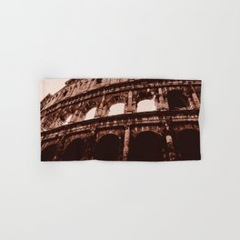Ancient Colosseum, Rome Hand & Bath Towel