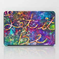 Let It Be iPad Case