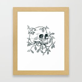 Hopped To Death Framed Art Print