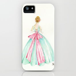Big Pink Bow iPhone Case