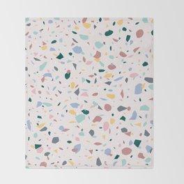 Colorful Terrazzo Throw Blanket