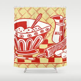 Mixing Up Something Good In The Kitchen Shower Curtain
