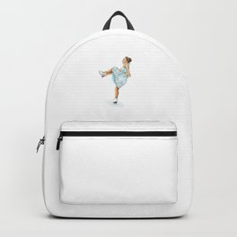 Figure Skating Heel Grab Backpack