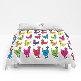 Happy Hens Comforters