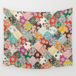sarilmak patchwork Wall Tapestry