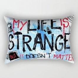 My life is strange! Rectangular Pillow