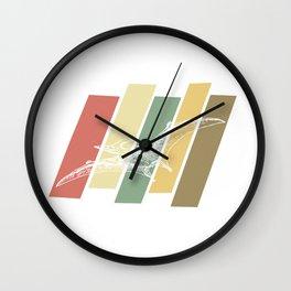 Vintage Pterodactyl Retro Dinosaur Gift Wall Clock