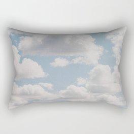 summer clouds iv Rectangular Pillow