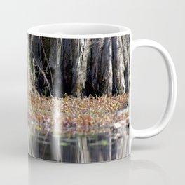 Watercolor Moss, Tree Moss 02, Merchants Millpond, North Carolina Coffee Mug