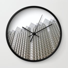 downtown architecture Wall Clock