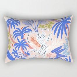 Rainforest Leopard Rectangular Pillow