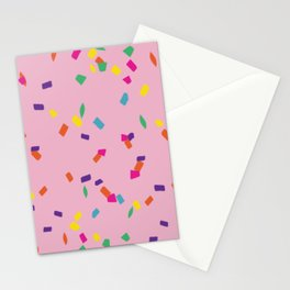 Party Time Confetti Stationery Cards