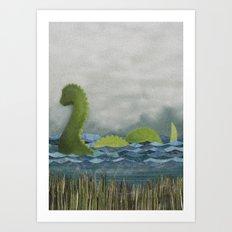 Nessie Art Print