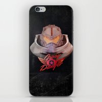 pacific rim iPhone & iPod Skins featuring Jaeger - Kaiju Hunter from Pacific Rim  by Thecansone