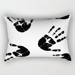 Fingerprints Rectangular Pillow