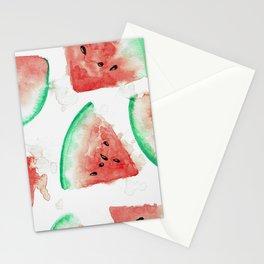 Tasty Watermelon Stationery Cards