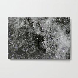 River Foam Metal Print