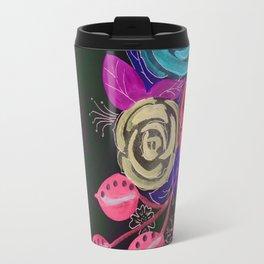 Floral Differences Travel Mug