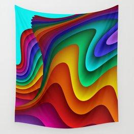 fluid -24- Wall Tapestry
