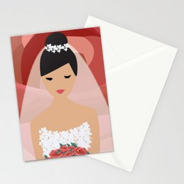 Roses Bride Stationery Cards