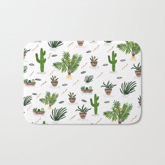 PLANTS ARE MY FRIENDS Bath Mat
