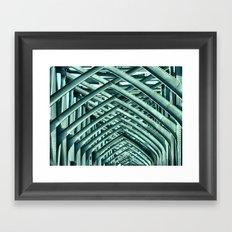 Bridge Ribs II Framed Art Print