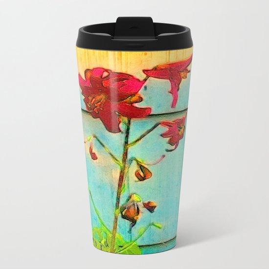 Wallflower Metal Travel Mug