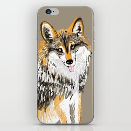 Mexican Wolf #1 iPhone Skin