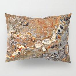 Earth Tones Lava Flow Pillow Sham