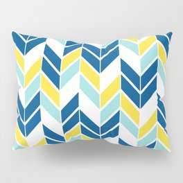 Spring Chevron Pillow Sham