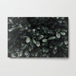 Lush Leaf Life Metal Print